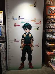 Character Height Chart Bokunoheroacademia
