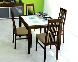 dining set paloma w frosted glass top table italy d