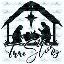 Free christmas vector download in ai, svg, eps and cdr. Christmas Tagged Manger Svg Svglandstore