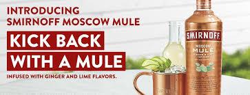 smirnoff moscow mule