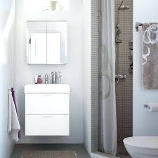 Ikea Small Bathroom Ideas Small Bathroom With A Grey Shower White