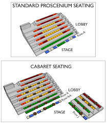 Imagination Stage Seating Chart Plan Your Visit