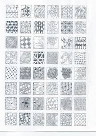 Zentangle Patterns Easy Custom Easy Zentangle Pattern Chart Coloring Pages whRCeOmf Drawing