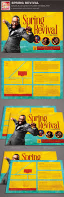 spring revival church flyer template flyer template church and spring revival church flyer template photoshop psd church promotion easter available here