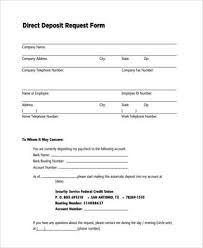 How To Fill Out Direct Deposit Form Direct Deposit Form Word Under Fontanacountryinn Com
