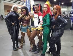 heroes and villains fan fest a fabulous finale comiconverse heroes and villains fan fest hvf atlanta cosplay