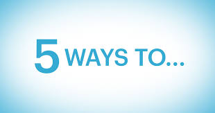 Image result for 5 ways