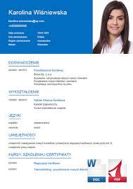 Kreator Cv – Napisz Profesjonalne Cv. Gotowe Wzory, Eksport Do Word ...