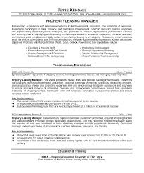 Property Manager Resume Sample Best Of Estate Manager Resume