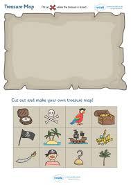 Design A Treasure Map Activity Twinkl Resources Treasure Map Design Activity