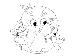 Earth Day Coloring Page Grab Your