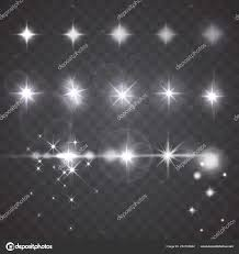 Camera Flash Light Effect Vector Lights Stars Twinkles Camera Lens Effects Set Flash