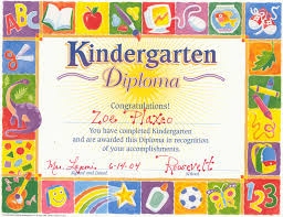 Ideas Of Preschool Graduation Certificate Template Free For