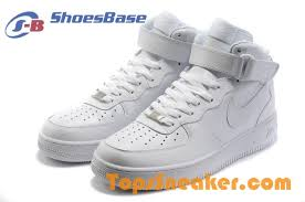 Fashion Hot Sale Womens NIKE Air Force 1 High All White Sport Shoes Larger Image