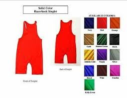 Details About Team Discount Youth Solid Color Spandex Freestyle Wrestling Singlet