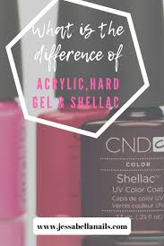 Anc Nails Color Chart The Difference Between Acrylic Hard Gel And Shellac Nails