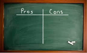 Making Good Decisions The Pros Cons Of Using Pros Cons