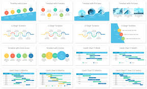Timelines And Gantt Charts For Powerpoint Gantt Chart