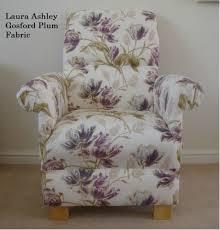 Laura Ashley Bedroom Chairs Laura Ashley Gosford Plum Fabric Adult Chair Armchair Bedroom