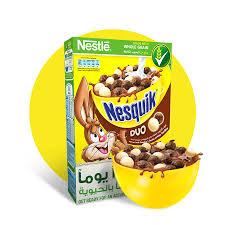 nestlÉ nesquik duo breakfast cereal