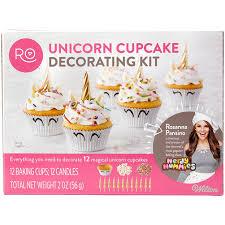 Rosanna Pansino Unicorn Cupcake Decorating Kit Wilton