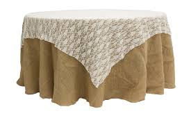 72 square lace table overlay topper white