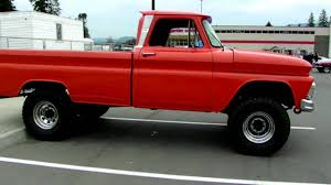 1966 Chevy 4x4 - YouTube