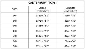 52 Explanatory 3xb Size Chart