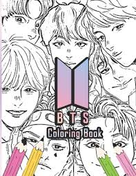 💖download our kpop coloring book right now and coloration lovely kpop coloring pages without spending a. Bts Coloring Book Bangtan Boys Coloring Books For Army Fans Kpop By Harde Summer