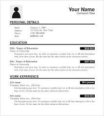 Downloadable Resume Templates Enchanting It Resume Template Download 28 Latex Resume Templates Pdf Doc Free