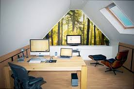 beautiful home office for a delight work attic home office idea design beautiful home office delight work