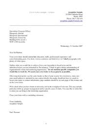 Professional Cover Letter Template Free Examples And