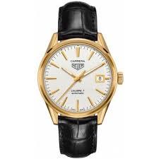 mens watches designer watches luxury peter jackson tag heuer carrera men s gold strap watch