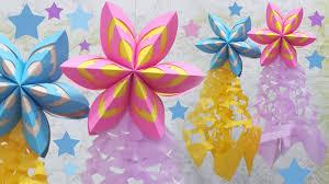 last minute christmas decoration idea paper parol