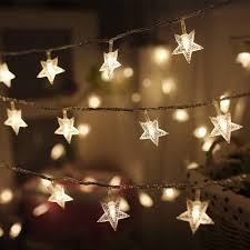 Clear Christmas Lights With Brown Cord Twinkle Star Star String Lights