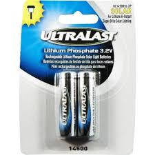 Solar Garden Lights Batteries Rechargeable