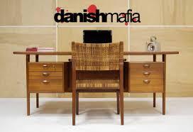 huge office desk. HUGE MID CENTURY DANISH MODERN TEAK KAI KRISTIANSEN OFFICE DESK 1 Huge Office Desk