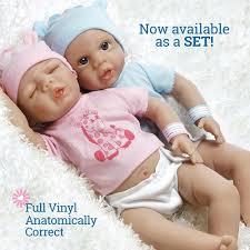 Tiny Twins Set - Anatomically Correct Baby Dolls - Paradise Galleries