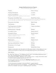 Wedding Ceremony Templates Free For Wedding Beau Free Wedding Ceremony Program Template For