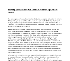 what was the nature of the apartheid state gcse history document image preview