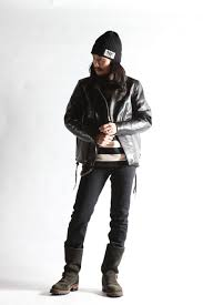 westride oak canyon leather jacket blk size 36 38 40