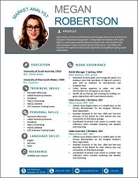 Unique Modern Resume Template Word Modern Resume Templates