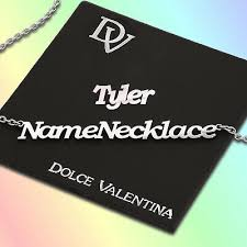 tyler named necklace personalise your