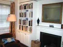 built in wall shelves built in wall shelves with fireplace
