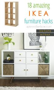 ikea furniture hack. Make Gorgeous Custom Furniture Easily With 18 Super Creative IKEA Hacks: Dressers, Cabinets, Benches, Tables, Kitchen Island, And More! Ikea Hack N