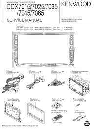 kenwood ddx service manual pdf kenwood ddx7015 7025 7035 7045 7065 monitor dvd receiver service manual