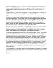 scholarship essay nhs the first pillar of nhs is scholarship 1 pages scholarship