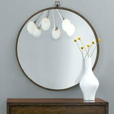 contemporary round wall mirrors view larger
