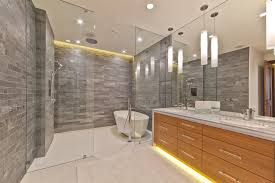 shower lighting ideas with stone tile bathroom rustic and h andle