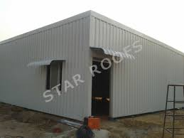 steel corrugated metal roofing shed